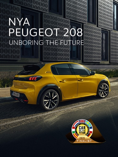 Nya Peugeot 208