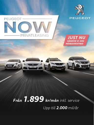 peugeot now privatleasing