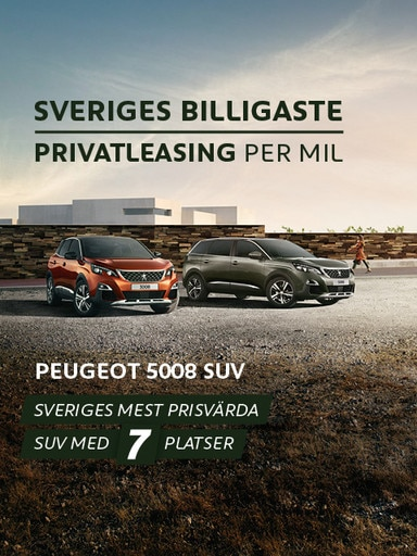 Peugeot privatleasing