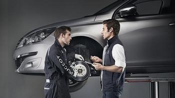 Peugeot Service och underhåll