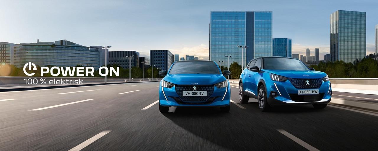 Peugeot elbilar