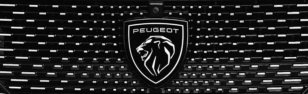 Peugeots logga, som är ett lejon