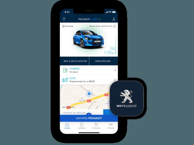 MyPeugeot app