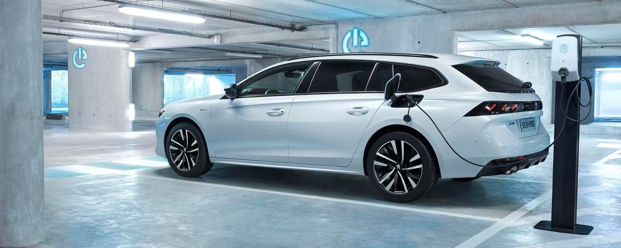 Peugeot plug-in hybrider